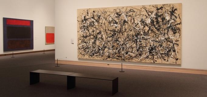 Jackson Pollock Autumn Rhythm (Number 30), 1950