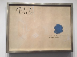 Joan Miró - Photo: This Is the Color of My Dreams, 1925