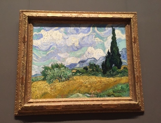 Vincent van Gogh - Wheat Field with Cypresses, 1889