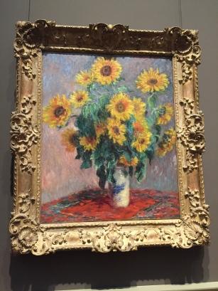 Claude Monet - Bouquet of Sunflowers,1881