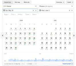 Google_Flights_Calendar