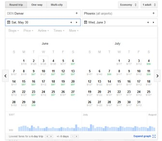 Google_Flights_Calendar